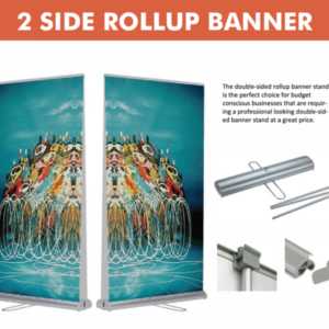 2 Sided Roll-up Banner